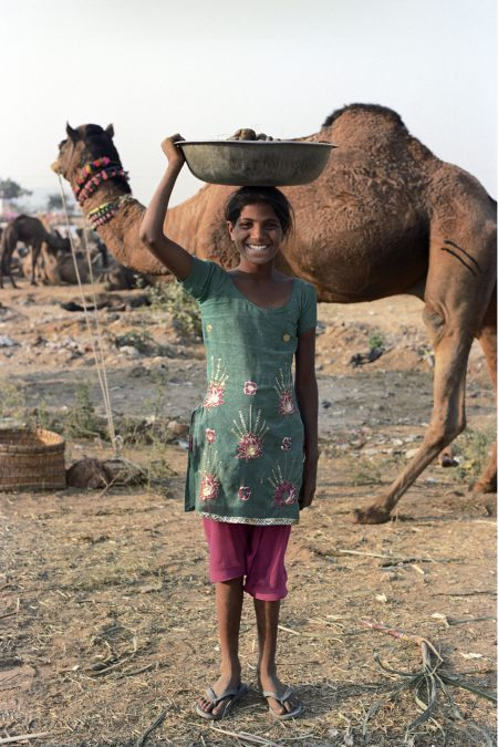 Girl, Pushkar (India)  Nov 2012