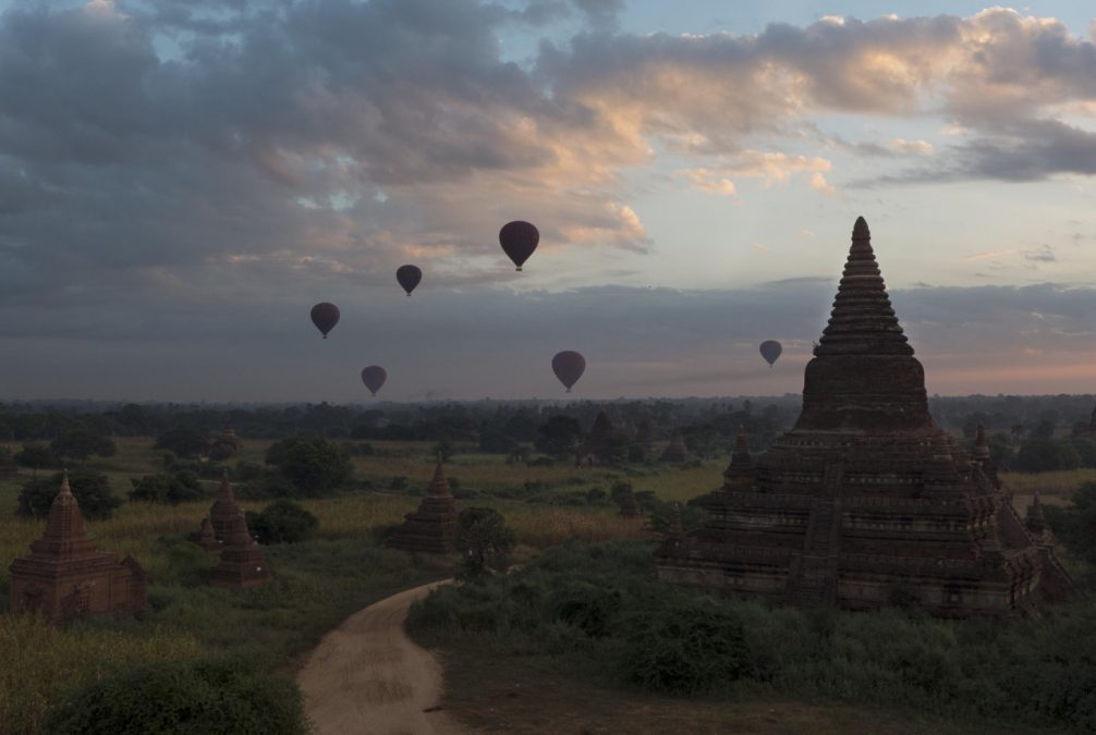 Working on My Second Book, IN ASIA (Bagan, Myanmar-Nov 2013)