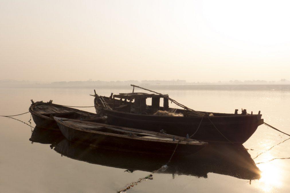 Boats, Varanasi (India, Nov. 2012)