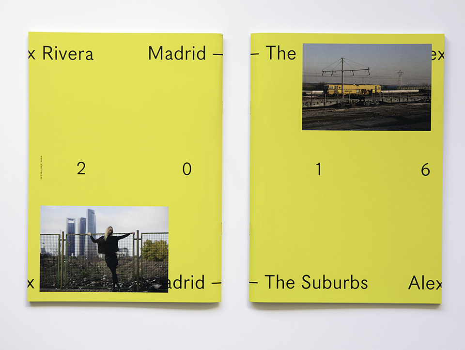 Madrid. The Suburbs (book). © Alex Rivera