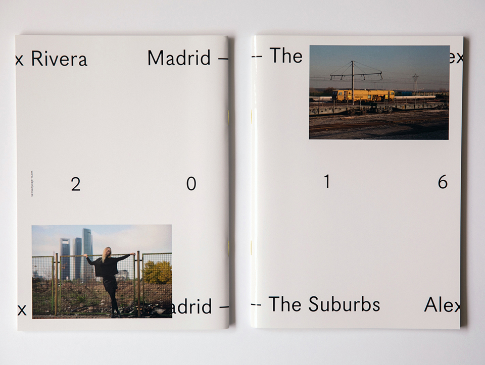 Madrid. The Suburbs (book). © Alex Rivera